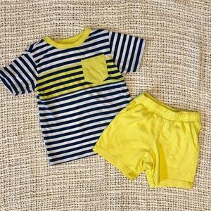 5/$25 Children's Place boys shorts & Shirt outfit